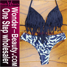Wholesale Two Pieces Halter Newest Bikini Model With Top Quality For Sexy Girl WT8384