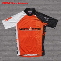 Full sublimation dry fit zip up women cycling jersey