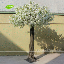 BLS051 GNW 13ft china wedding decoration plastic artificial cherry blossom branch for wholesale