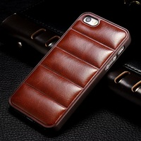 Hard PC back soft PU leather for Iphone 6 6S professional alibaba custom made case