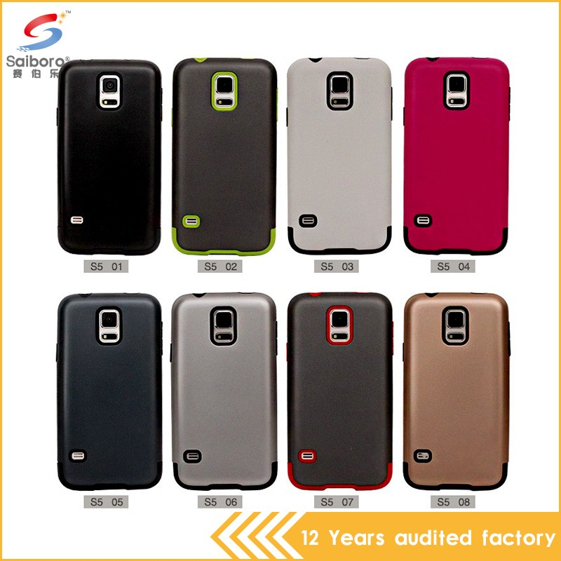 China manufacturer shockproof light up phone case for samsung galaxy s5