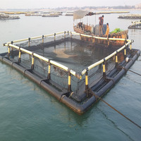 Quadrate cage for fish farming