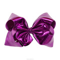 Bright Purple 7 Inch Hair Bow For Girls Fancy Hair Accessories
