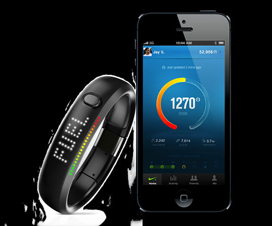 Nike Plus Fuelband Black Calories Sporting Wristband Exercise & Fitness sport fitness product