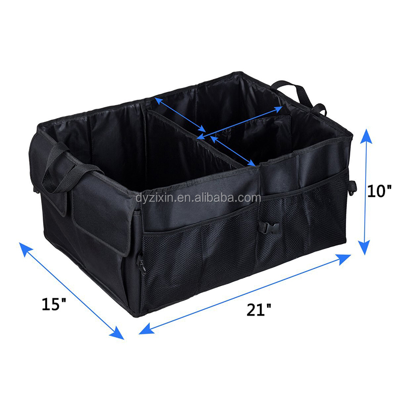Amazon Hot Sale Heavy Duty Waterproof SUV Vehicle Truck Car Trunk Organizer For AUTO Tools Bag