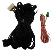 power lift tail gate organizer truck wiring harness