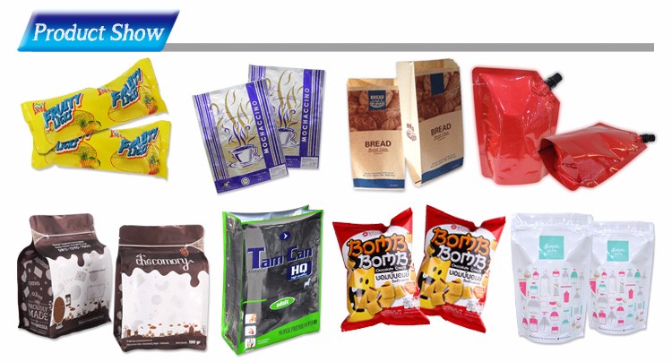 MAT pastic ice cream packaging film