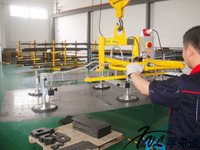Vacuum lifter for metal processing and electrical industry