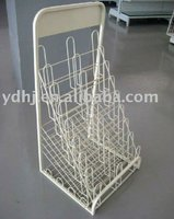 Wire Book Display Shlef Stands YD-034 Suzhou Manufacturer