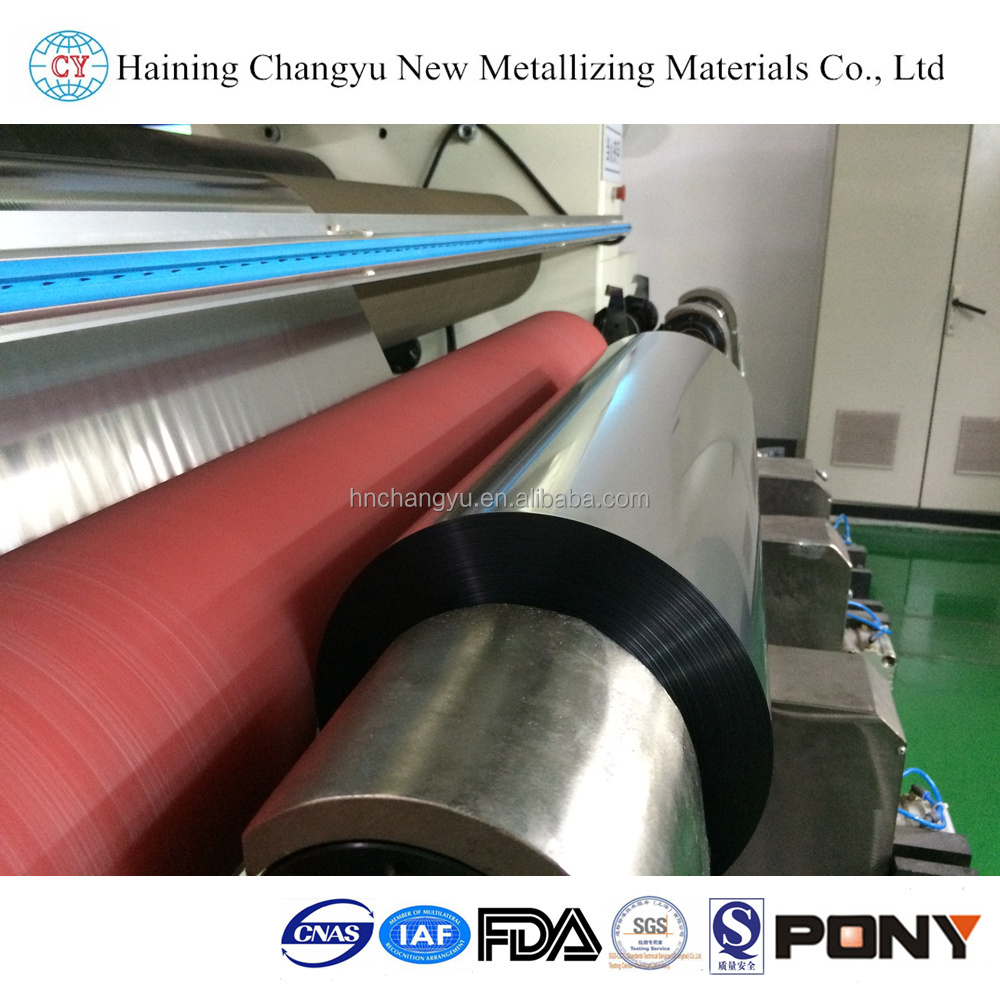 Metallized Polyester Silver Roll Films Met Pet Lamination Film
