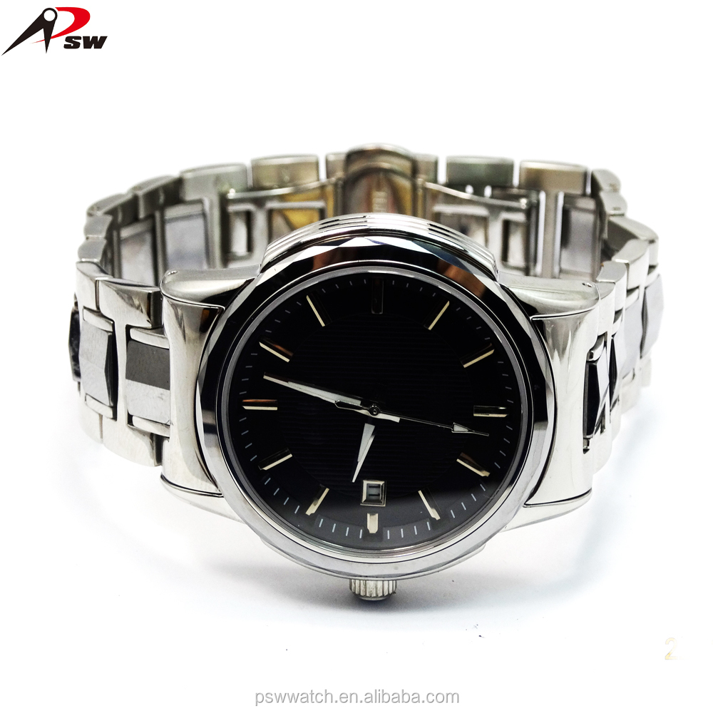 Fashion Stainless Steel Skeleton Mechanical automatic men luxury wristband watch