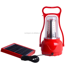 35 LED outdoor solar camping lights rechargeable emergency portable camping lamp