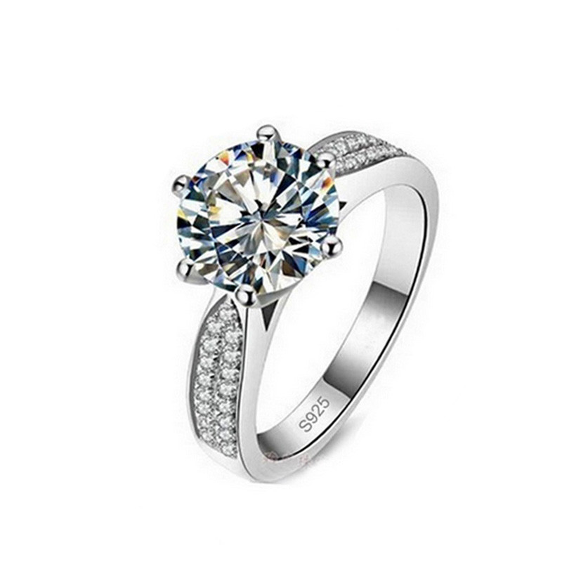 cz jewellery cubic zirconia engagement wedding