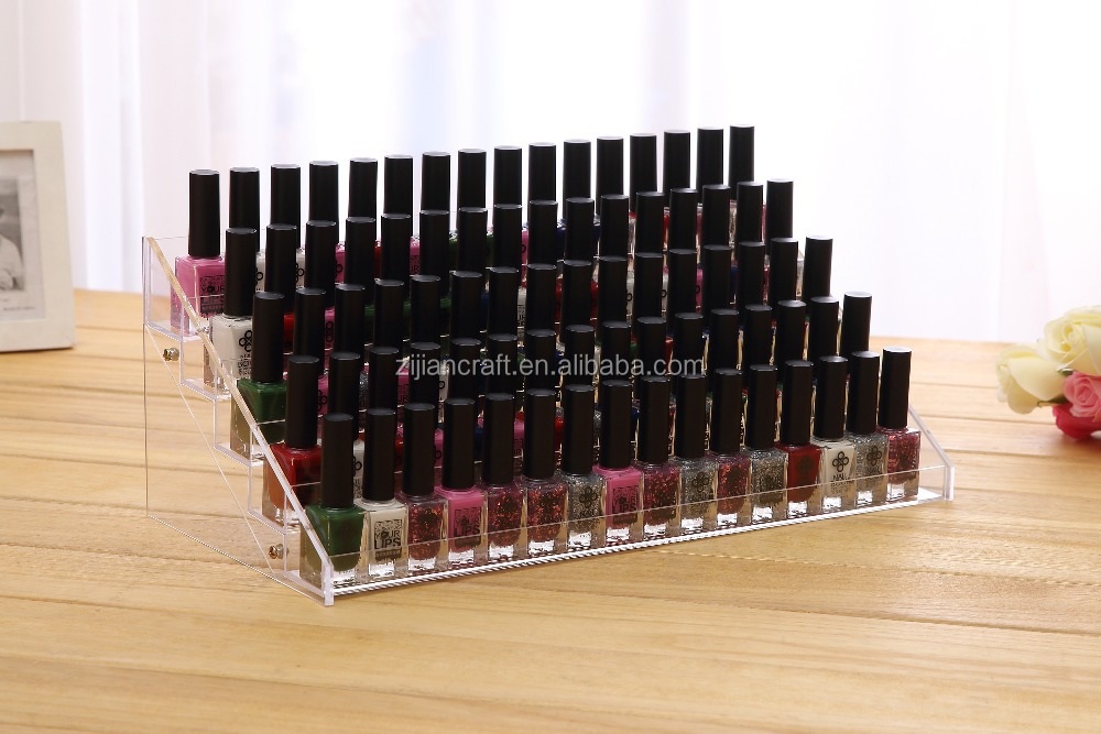 yh-876 65 bottles of nail rack, acrylic display rack, nail polish rack display rack