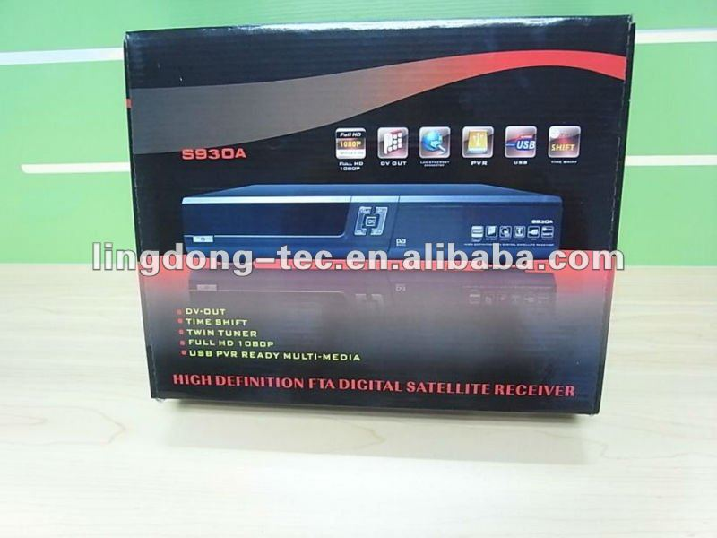 az america s930 receiver has SKS and IKS with internet tv receiver