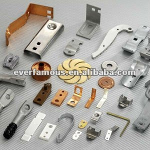 Custom steel brass aluminum alloy parts, custom metal stamping parts, stamping parts fabrication service
