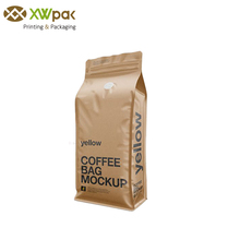 High Quality 1Kg Kraft Paper Coffee Bag With Valve