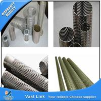 New design perforated mesh filter strainer pipes with competitive advantages