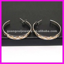wholesale fashion gold earrings 2012 new design
