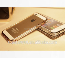 2015 Hot Selling Luxury Crown Diamond Bumpers For iphone 5 5s,Crown Jewelry Bling Bumper Case For iphone 5 5s,Diamond Bumpers
