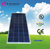 Renewable energy equipment pv solar panel 130w