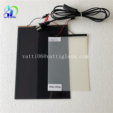 Transparent Self-adhesive Switchable PDLC film/Glass Smart PDLC Magic Film for building glass