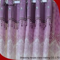 2016 design window fabric luxury fashion custom drapery and curtain