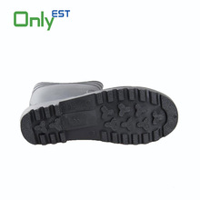 China design outdoor work wholesale PVC gumboots with safety toe cap