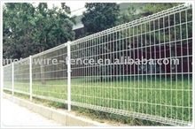 double ring wire mesh fence, double ring fence panel, double circle fence