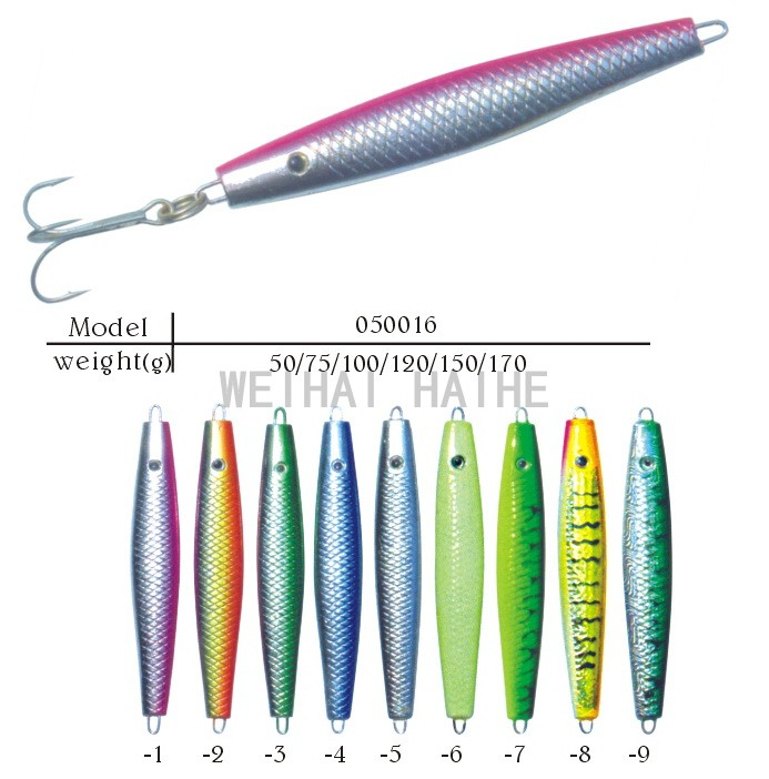 Lead pirk jig head fishing lures Spinner pollack cod pike perch vertical jig