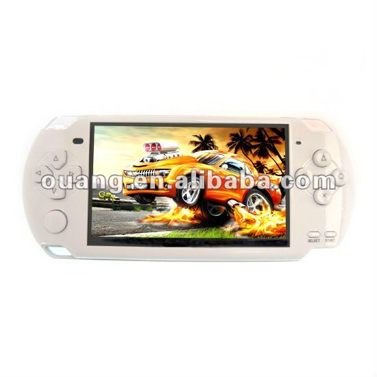 4.3inch LCD games player.MP6 MP9 China Factory
