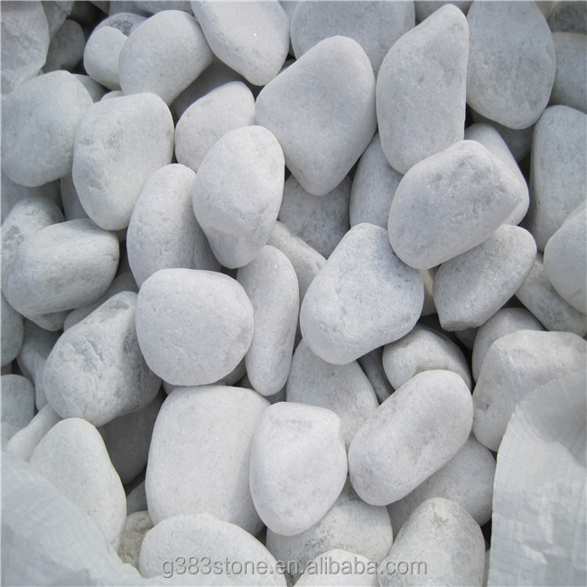 Factory wholesale price small cleaning white mexican beach pebbles