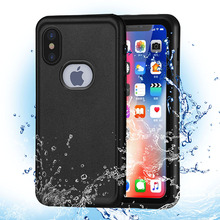 Free Sample TPE Waterproof Mobile Cell Phone Case For iphone x
