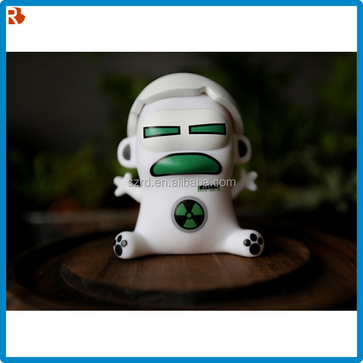 Soft Custom toys wholesales, 2016 Promotional Gift Item Vinyl Figurine /Custom Vinyl toys 3D DIY plastic PVC toy