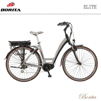 New Design White 700C Aluminum Cheap Classic City Electric Bike