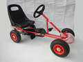 kids pedal go kart four wheel drive toy car F100B