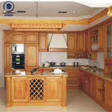 Commercial Projects Modular Melamine kitchen cabinet design fitted kitchen