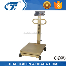 600kg big weighing scale hualitai with stainless keypad