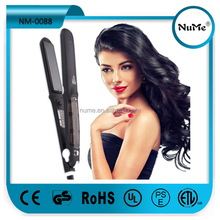 New Professional Flat Iron 235C Ultra Fast Heat Electric Straightener Steam Hair Straightener with Factory Price