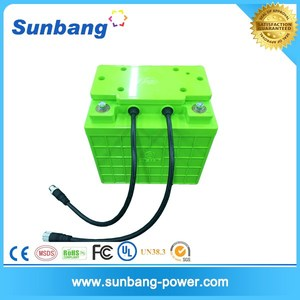 Deep cycle rechargeable LiFePo4 battery 12v 45ah for 12v solar panel/electric motor vehicle/golf car