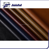 Latest style genuine garment leather,100% pu synthetic leather for garment fabric