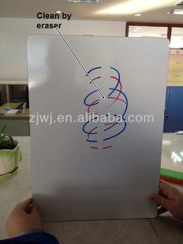 Jiangsu whiteboard supplier Melamine whiteboard without frame