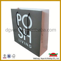 cute bag luxury promotional advertising paper bag