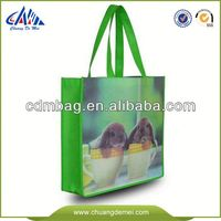 High Quality Promotional purple eco friendly bag reusable shopping bags
