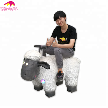 KANO-262 Theme Park Animated Cartoon Sheep Scooter