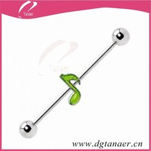 Nature steel color industrial fashion barbells