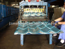 glazed steel tile roll forming machine/high rib roofing panel roll forming machine/roof panel machine