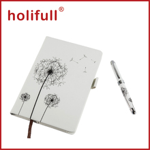 2015 high-end import A5 size notebook and pen gift set islamic business gift for sale