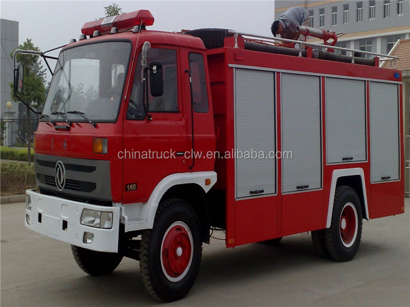 china cheap 6cbm 4X2 water fire truck for hot sale
