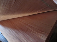 0.3mm A grade natural gurjan PLB pencil cedar plywood face veneer
